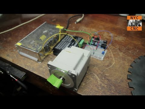 Use Arduino to Control a Large Stepper Motor! Part 1