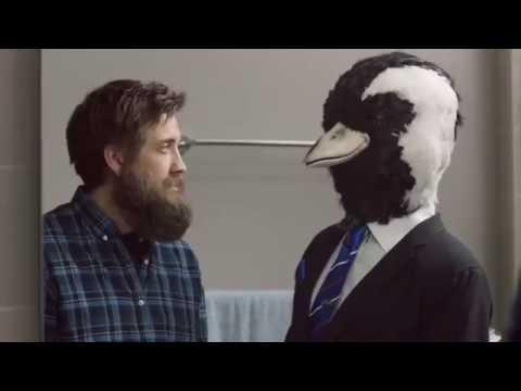 BankSA and Piping Shrike beard ad