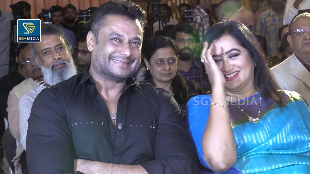 Challenging Star Darshan Fun Chit Chat With Sumalatha Ambarish | Cuteness Overloaded Video