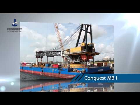 Heavy Lift Crane Barge Conquest MB I