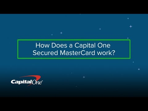 How To Get A Secured Mastercard | Capital One