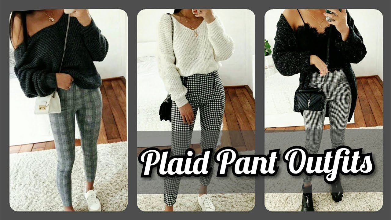[VIDEO] - 30+ Trendy And Classic Plaid Pant Outfits For Winter And Spring 1