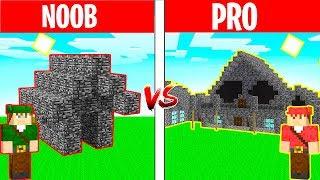 NOOB vs PRO: CASA DE BEDROCK MODERNA no Minecraft!
