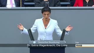 Sahra Wagenknecht, DIE LINKE: Grandiose Mannschaft von schwarzen und roten Nullen