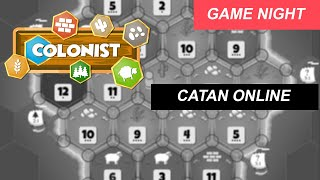 GAME NIGHT - CATAN ONLINE | ModerN