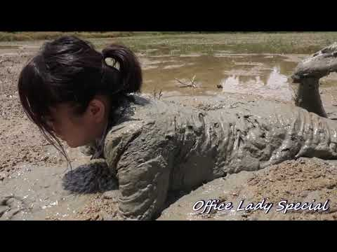 MUDDY:Playing with mud for pastime