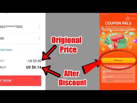 How to Get Free Coupon From Aliexpress | Aliexpress coupon Pals