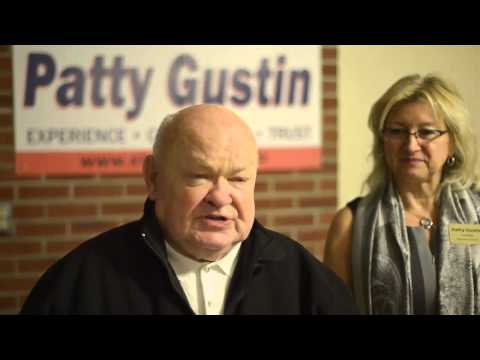 Mayor Pradel Voting for Patty Gustin
