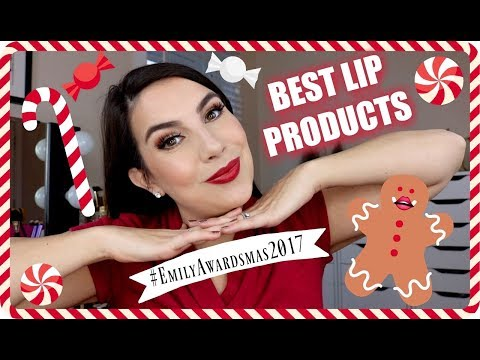 EMILY AWARDS: Best Lip Products 2017