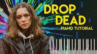 Holly Humberstone - Drop Dead | Piano Tutorial