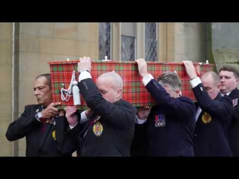 Tom Gilzean MBE Funeral