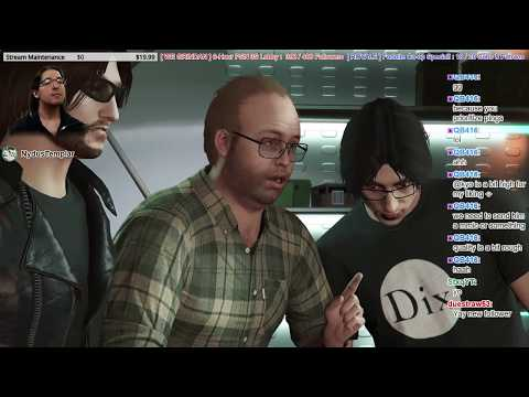 [GTA Online] Templar LLC does The Fleeca Job! Lester does a lot of talking!