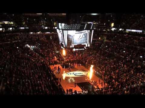 San Antonio Spurs Intro 2015 - 2016