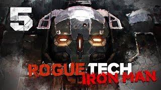 Hilarious Machine Gun Firestarter ★ RogueTech Battletech 2018 Mod Playthrough #5