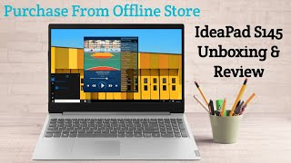 Lenovo IdeaPad S145 Unboxing & Review | Intel i5 8th Gen | 8GB RAM + 1TB Storage
