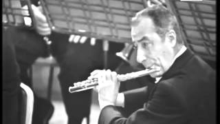 Severino Gazzelloni playing Daphnis et Chloé