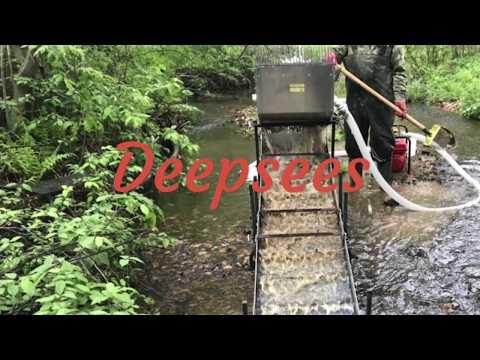 Проверка условий и оборудования для золотодобычи Дипсис
