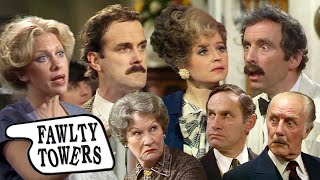 The Best (and Worst) of Basil Fawlty and His Guests | Fawlty Towers | BBC Comedy Greats