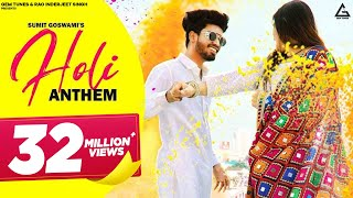 Holi Anthem Sumit Goswami Free MP3 Song Download 320 Kbps