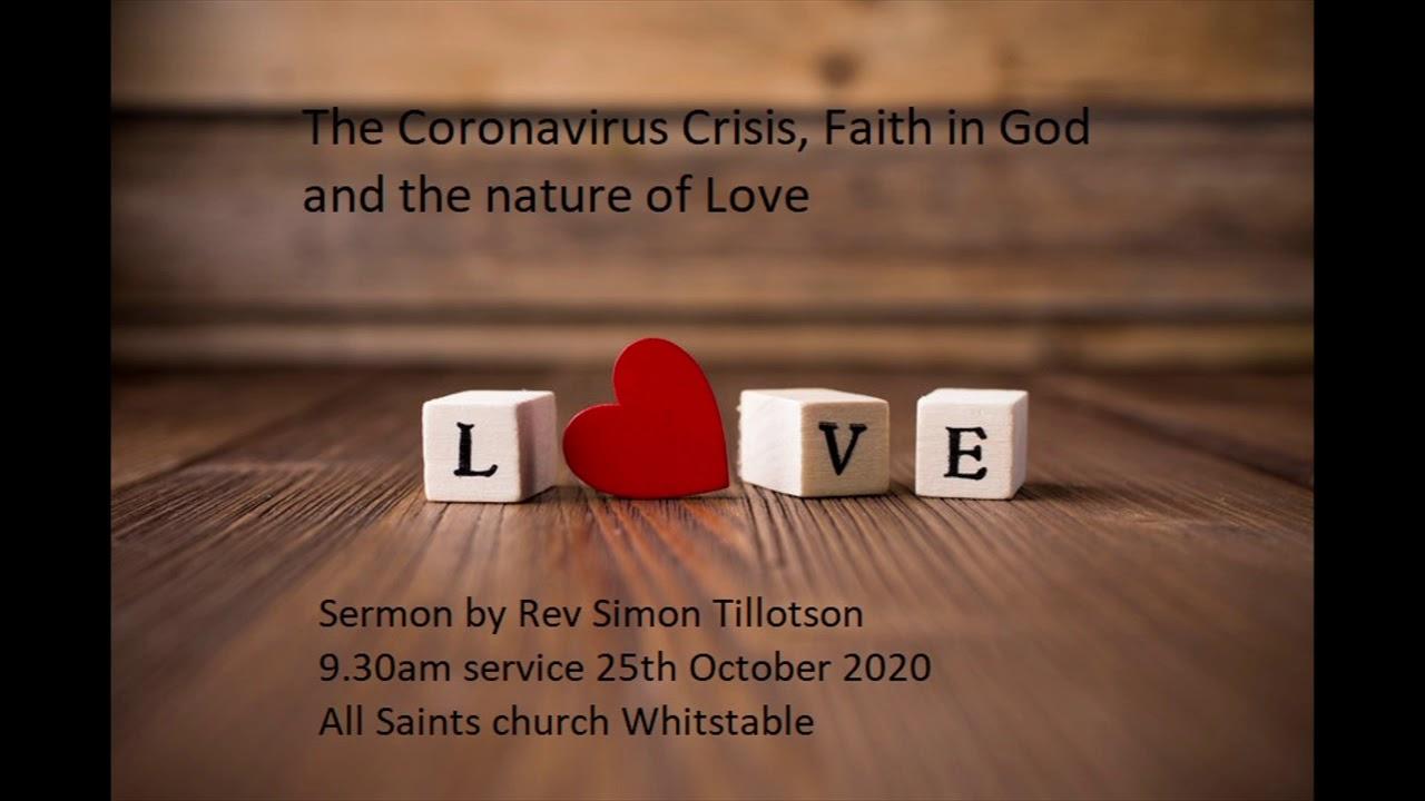 Sermon from the Last Sunday of Trinity by Rev Simon Tillotson