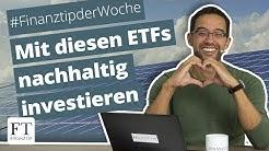 Diese ETFs auf nachhaltige Indizes empfiehlt Finanztip 2019