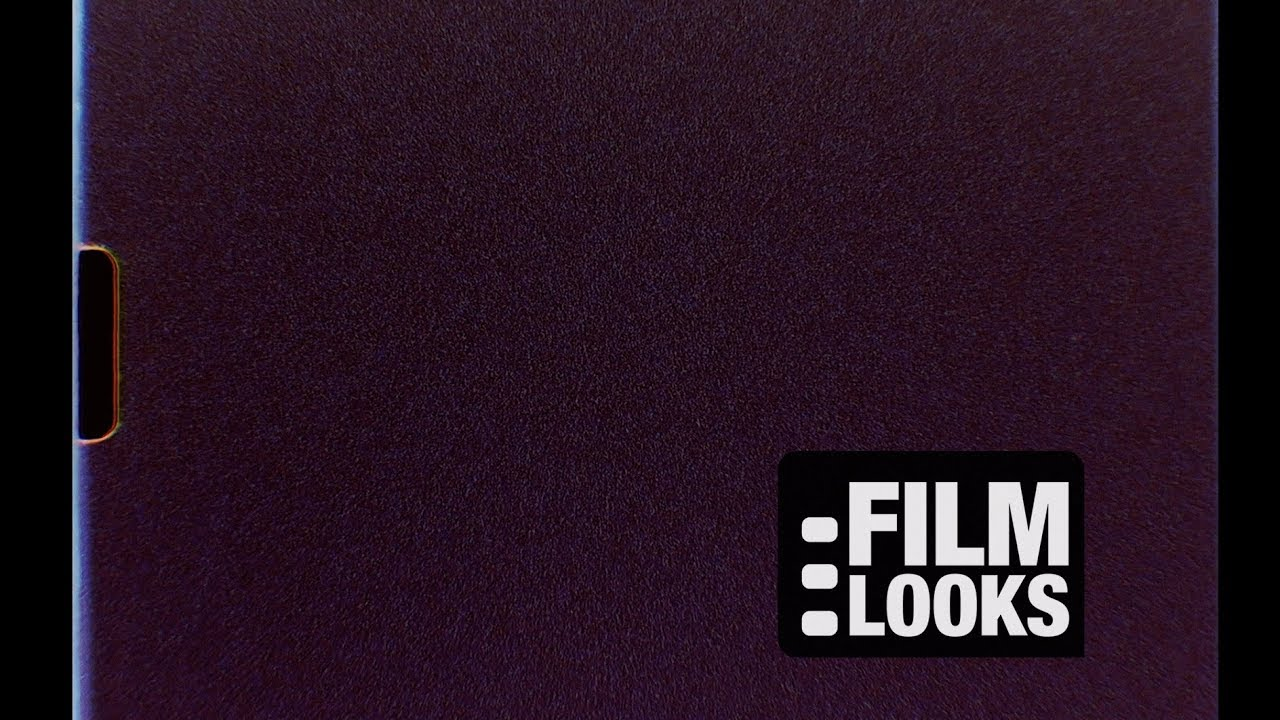 Super 8 Film Frame with Grain