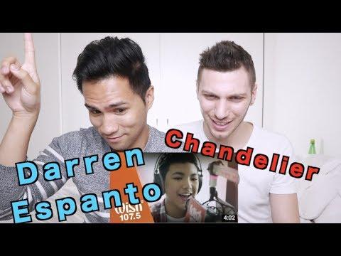 Darren Espanto - Chandelier (Sia) LIVE Cover on Wish FM 107.5 Bus HD | REACTION