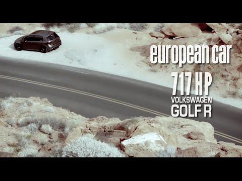 717 HP VW Golf R (European Car Magazine promo edit)