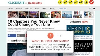 18 Chapters You Never Knew Could Change Your Life - TEASER