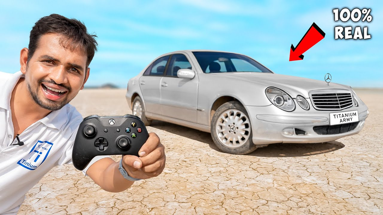 We Made Real Remote Controlled Car - सपना सच हो गया   Mercedes-Benz
