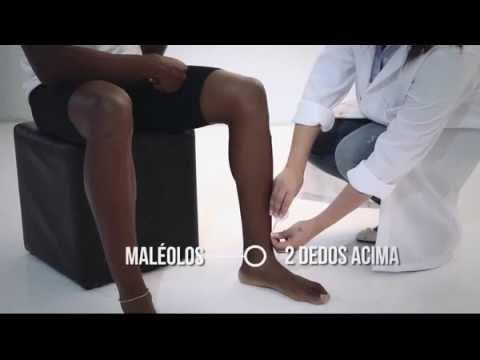 c7264637d Veja como medir sua meia Kendall (Masculina) - YouTube