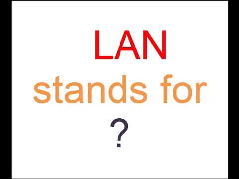 LAN Stands For ?