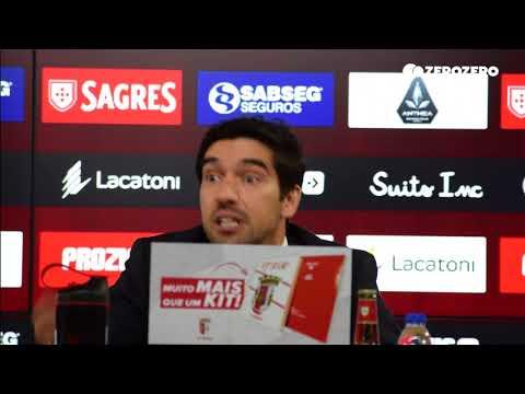 Abel: «Pela grandeza, o Benfica é que tinha de nos encostar, mas não foi assim»