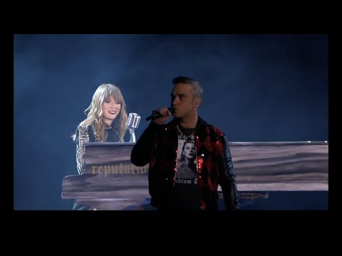 Taylor Swift and Robbie Williams - Angels - reputation Stadium Tour