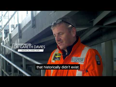 What does it take to work for London's air ambulance? -  Dr Gareth Davies