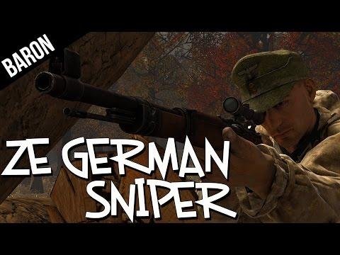 Ze German Sniper! - Heroes and Generals Gameplay Sniper Gameplay