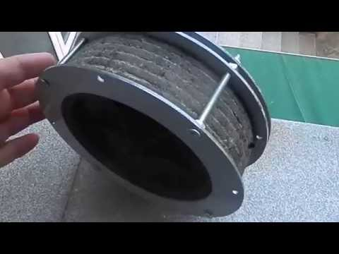 A downscaled model of newly invented hybrid armored tire of armored vehicles