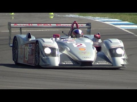 2006 Audi R8 FSI LMP1 (PURE ENGINE SOUNDS)