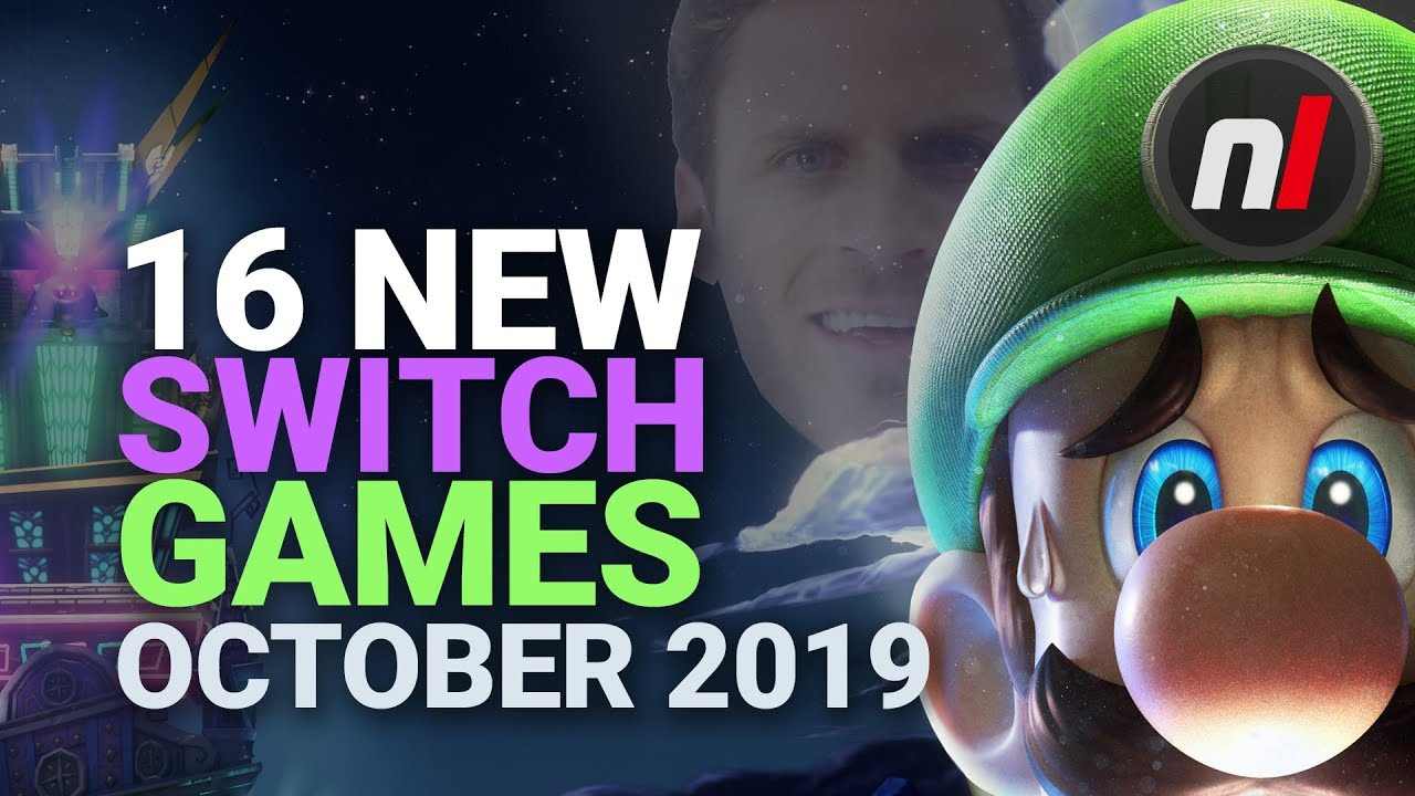 16 Exciting New Games Coming To Nintendo Switch October