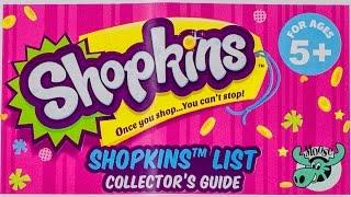 SHOPKINS Season 2 Checklist Collector Guide 2015 Thumbnail