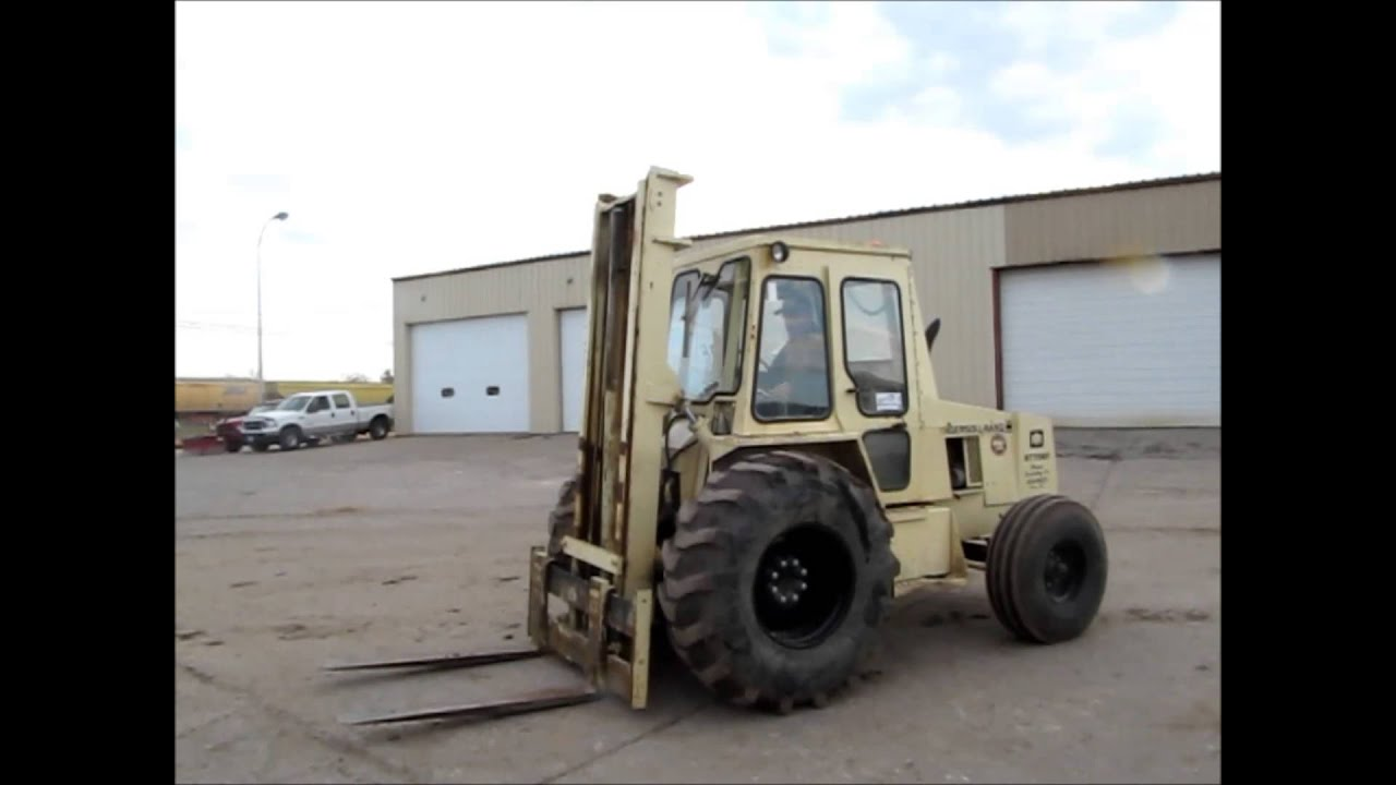 Ingersoll Rand RT-708 rough terrain forklift for sale | sold at ...