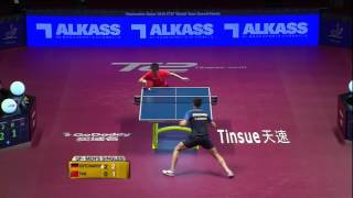 2016 qatar qf dimitrij ovtcharov vs fan zhendong full match short edition
