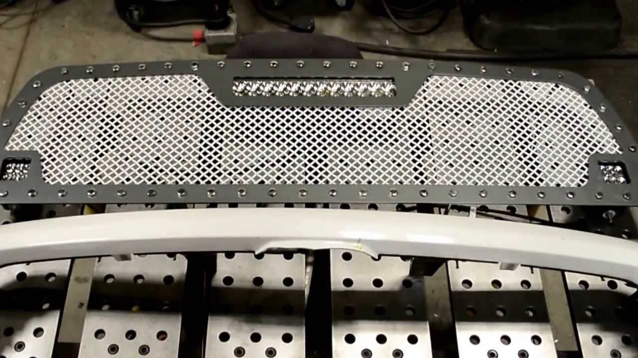 Racemesh Trucks Dodge Ram Mesh Grille Grill Install 2500