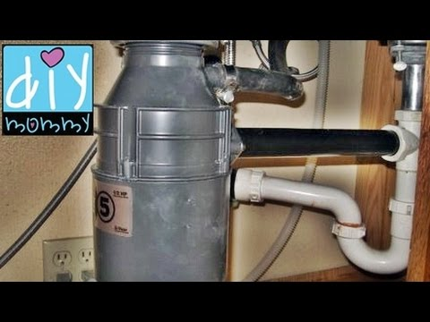 Garbage Disposal Installation Insinkerator How To Replace Install Step By You