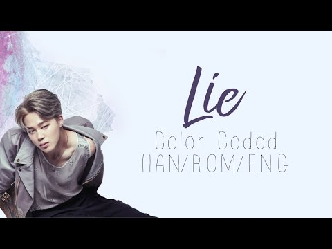 BTS (방탄소년단) | Jimin (지민) - Lie (Color Coded Hangul/Rom/Eng Lyrics)