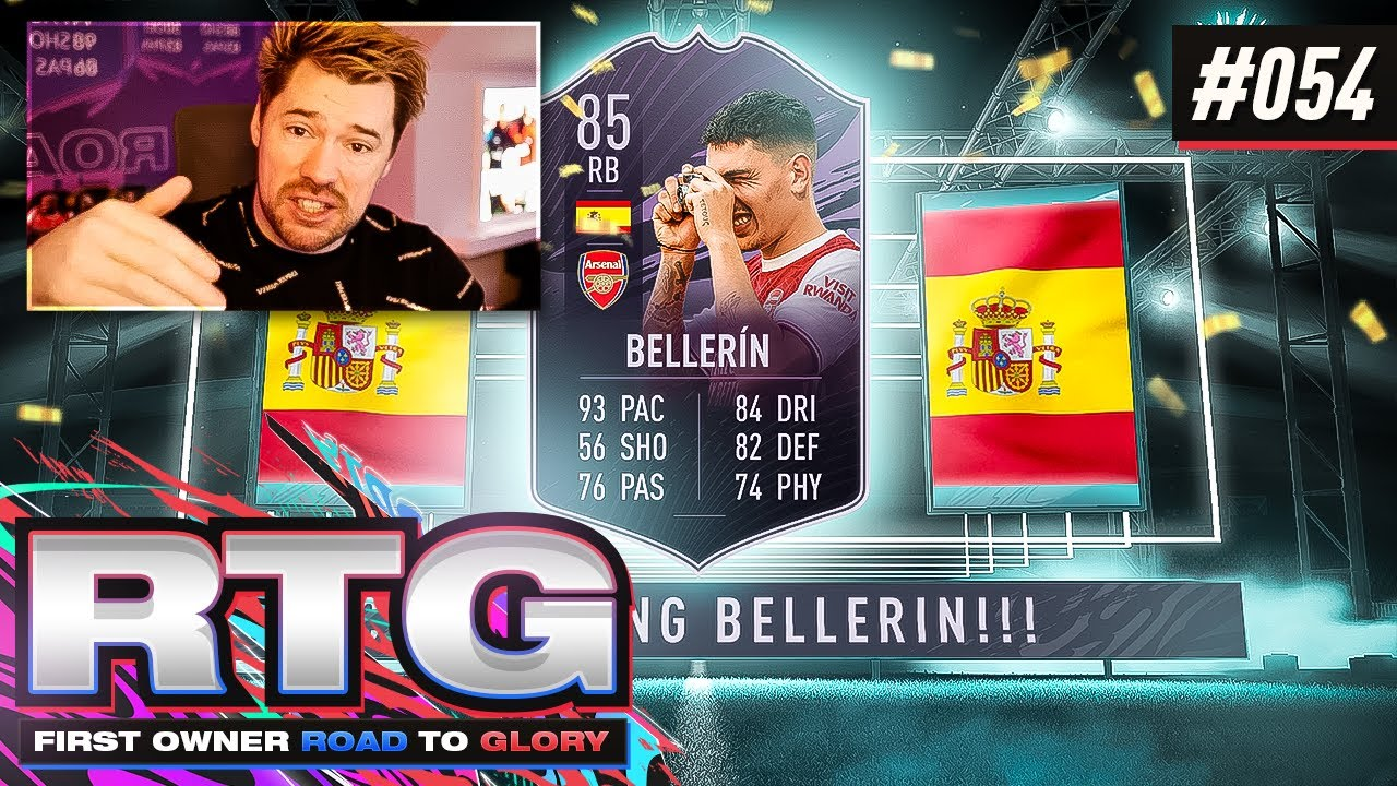 CLAIMING HECTOR BELLERIN!! - FIFA 21 First Owner Road To Glory! #54