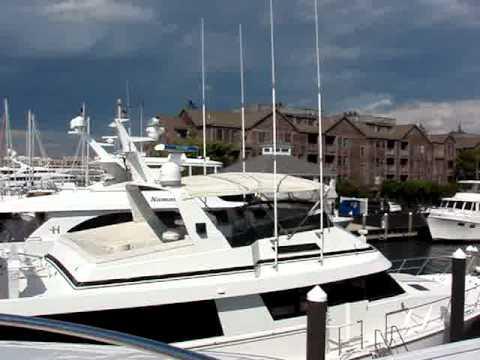 Marina at Brown and Howard Wharf, Newport, Rhode Island