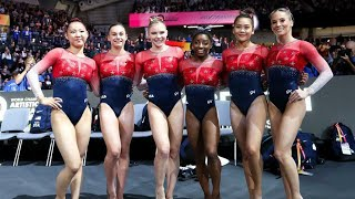 2019 Worlds WAG Team Final NBC