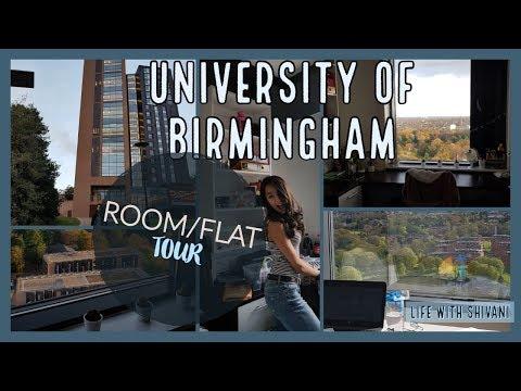 FIRST YEAR UNI ROOM/FLAT TOUR | University of Birmingham
