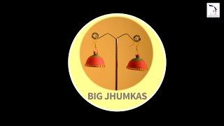DIY : Big Quilling Jhumkas | Quilling Tutorial | Quilling Jhumkas